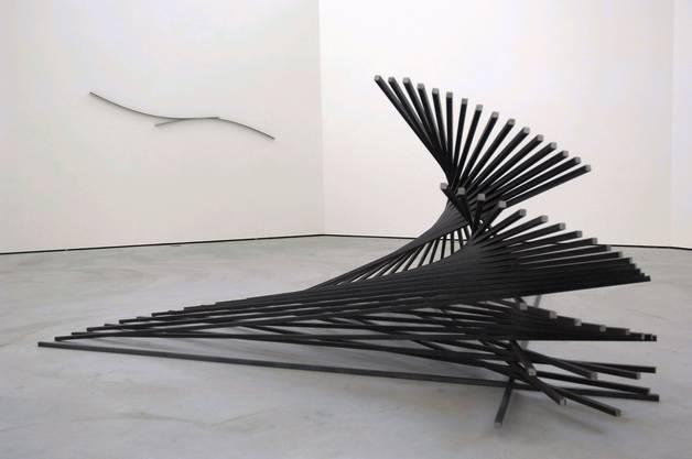 Gunter Fretzel kreierte seine Kunstwerke in vielen Ausstellungsräumen