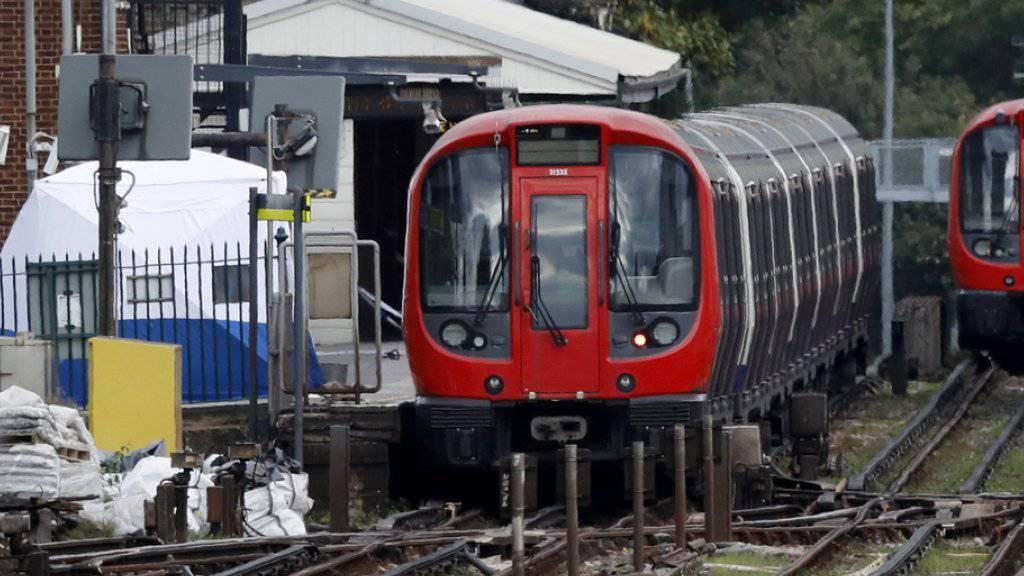 «Feuerball» in U-Bahn: Anschlag in London mit 29 Verletzten