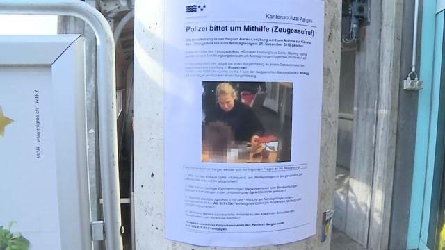 Polizei verteilt Flugblätter im Fall Rupperswil