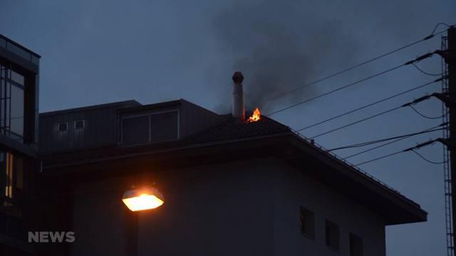 Brand in Olten löst Verkehrschaos aus