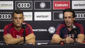Xhaka bekommt einen neuen Trainer beim FC Arsenal – Emery wurde nach der Niederlage gegen Eintracht Frankfurt entlassen.