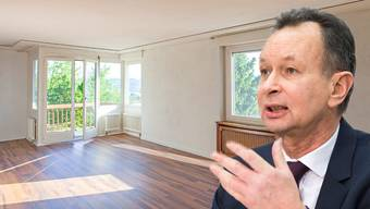 Der Reinacher FDP-Ständerat Philipp Müller hat einen radikalen Vorschlag, wie der Bauboom gestoppt werden könnte.