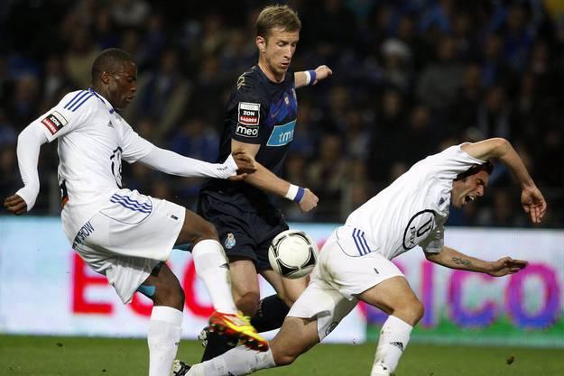 Seine nächste Station hiess FC Porto. Dort spielte er nur acht Monate im Jahr 2012.