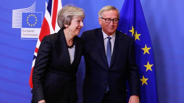 Theresa May steht wegen der Vereinbarungen mit der EU im eigenen Land massiv unter Druck.