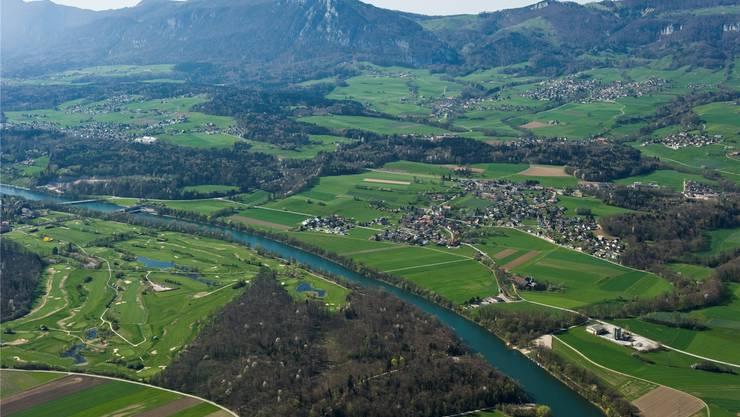 Blick auf den unteren Leberberg: In diesem Gebiet sollen die ökologischen Ausgleichsflächen vernetzt werden.