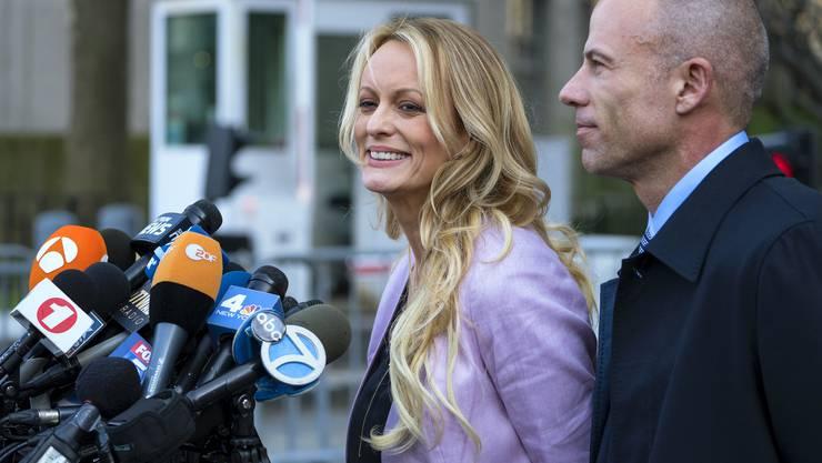 Michael Avenatti, Anwalt der Pornodarstellerin Stormy Daniels, brachte den Novartis-Deal ans Licht.