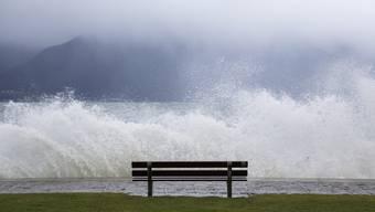 Das turbulente Wetter Mitte Januar