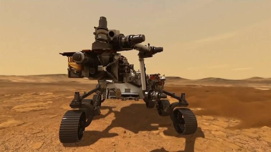 Mars-Rover erfolgreich gelandet: «Perseverance» schickt erste Bilder