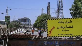 Das Militär hat die Gespräche mit der Demokratiebewegung im Sudan ausgesetzt, bis zahlreiche Strassensperren weggeräumt sind.