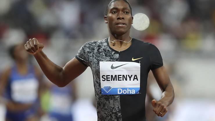 Caster Semenya ist Südafrikas Laufstar und Doppel-Olympiasiegerin über 800 m
