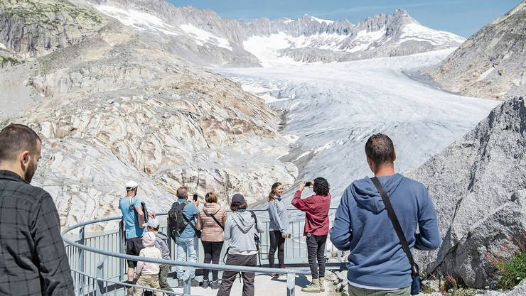 Die Gletscherinitiative will den Klimawandel bekämpfen.