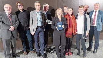 Die Verantwortlichen mit den Neujahrsblättern 2020.