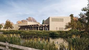 So sieht das geplante Besucherzentrum der Vogelwarte Sempach aus (Bild: Vogelwarte Sempach)