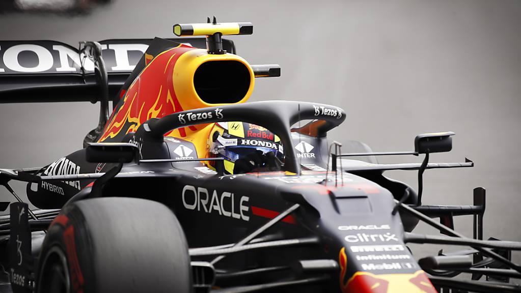 Sergio Perez feiert in Baku seinen zweiten GP-Sieg in der Formel 1.