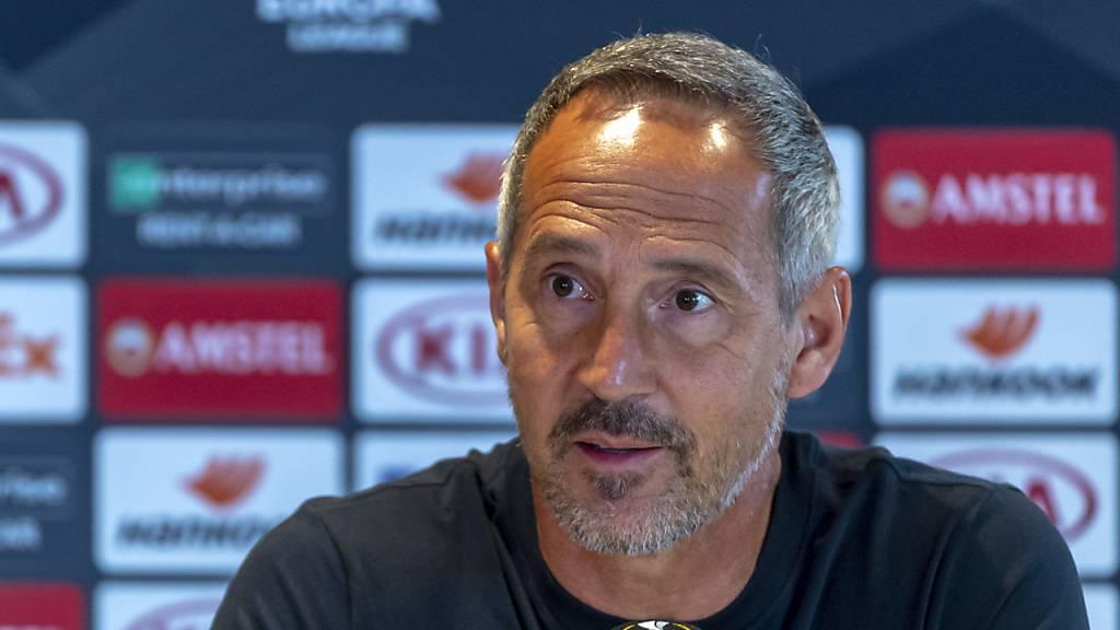 Adi Hütter verlängert Vertrag in Frankfurt vorzeitig