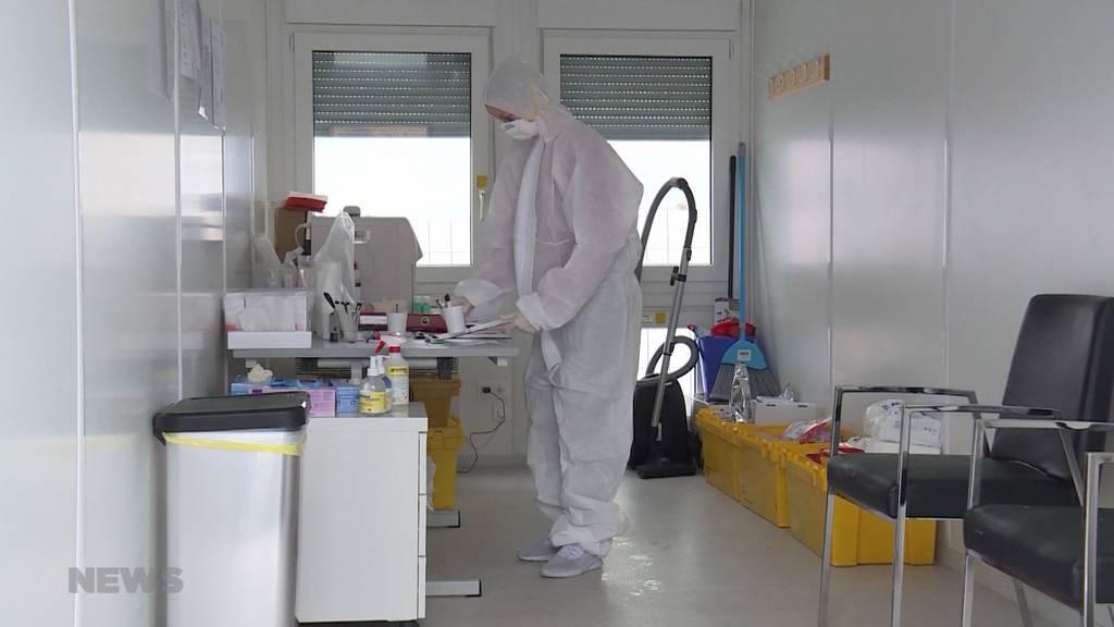 Schüpfen: Coronavirus-Test in Container möglich