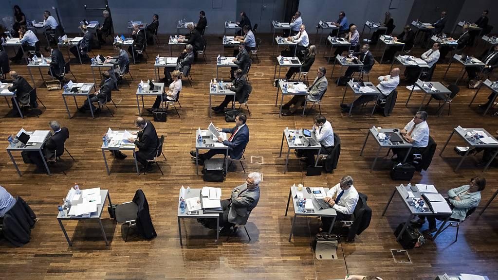 Die Erhöhung der ordentlichen Arbeitgeberbeiträge bedingt eine Teilrevision des Pensionskassengesetzes und damit die Zustimmung des Kantonsrates. (Archivbild)
