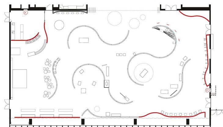 Plan der Sonderschau