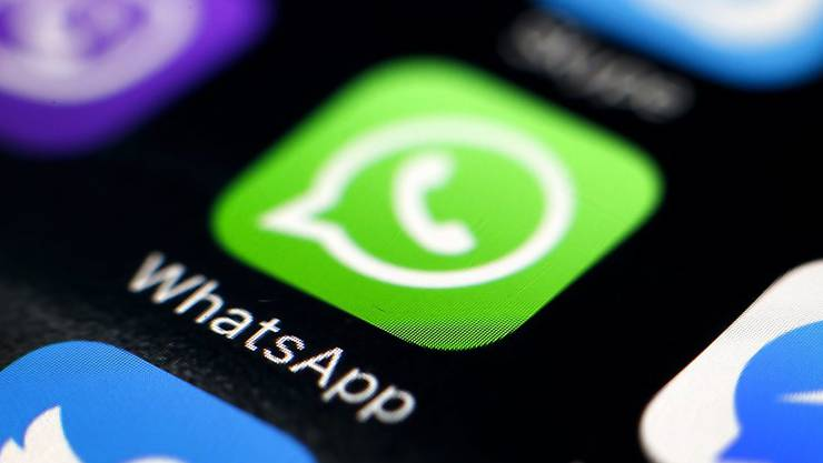 """""""Verbinden..."""": Der Nachrichtendienst WhatsApp erleidet eine Panne. (Archivbild)"""