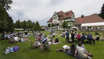 Die Langmatt – hier als Picknick-Stätte – soll nicht nur Kulturinteressierte in ihren Bann ziehen. AZ-Archiv/Alex Spichale