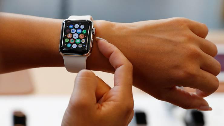 Apples Smartwatch soll bald eine EKG-Funktion enthalten.