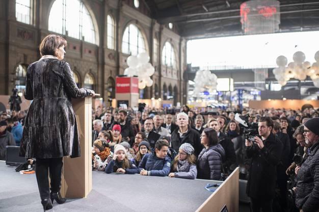 Digitaltag im Hauptbahnhof in Zürich