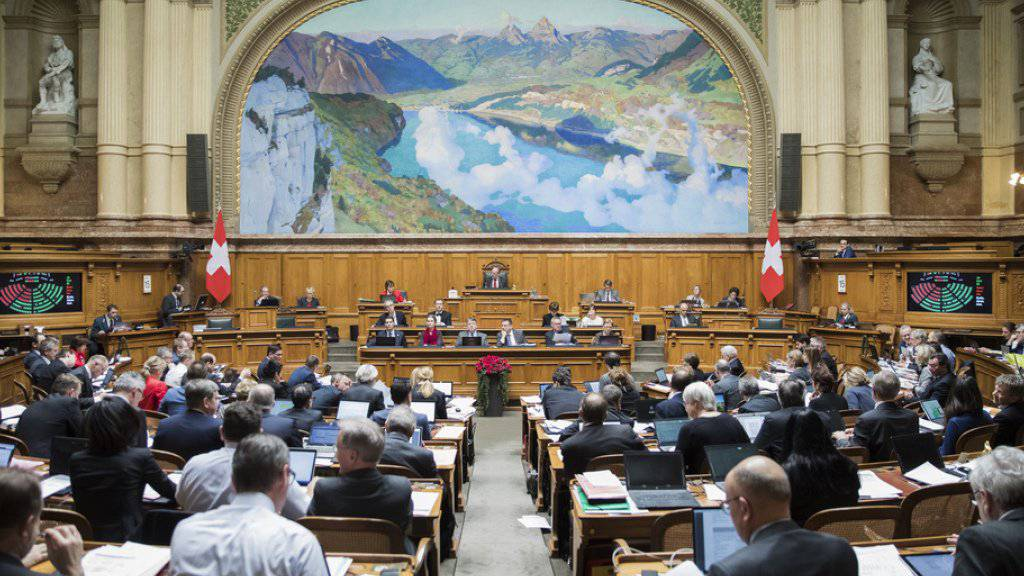 Eine Landeshymne pro Legislatur genügt: Der Nationalrat will den Schweizerpsalm nicht zu Beginn jeder Session singen. (Symbolbild)