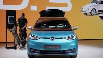 VW startet eigene Batterieproduktion. (Archivbild)