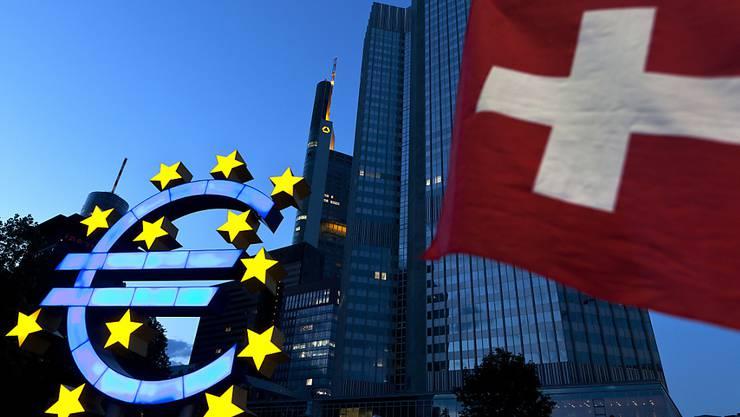 Die gute Konjunktur in der Eurozone verschafft der Schweizer Wirtschaft Schub. (Archiv)