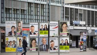 Zürcher Wahlplakate 2015