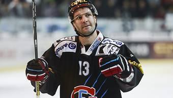 Benjamin Plüss avancierte zum Matchwinner für Fribourg.