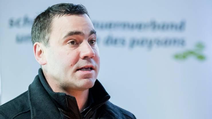 Der neue Direktor des Schweizer Bauernverbands: Martin Rufer, bisher Leiter des Departements Produktion, Märkte und Ökologie beim SBV.