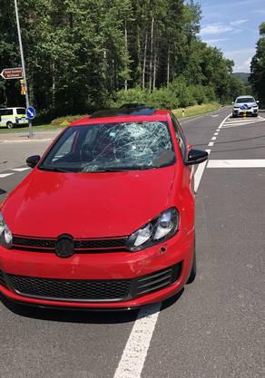 Die Autofahrerin wurde ebenfalls zur Kontrolle ins Spital gebracht.
