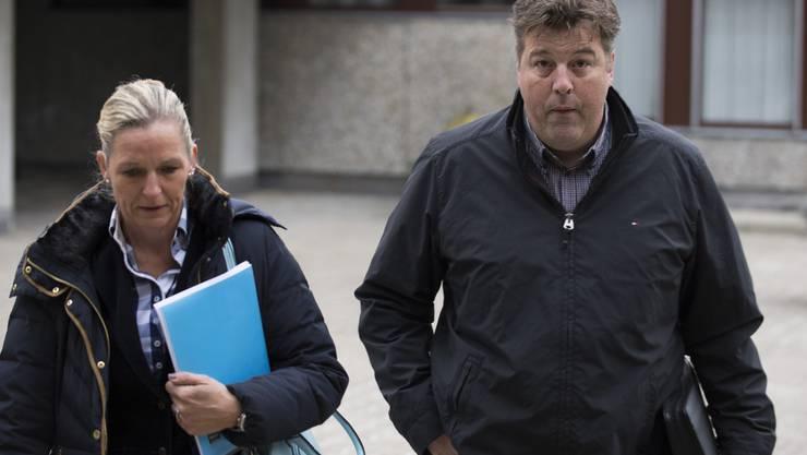 Bauernverbandspräsident Ferdi Hodel erschien 2014 vor dem Bezirksgericht in Affoltern. Nun muss er sich vor dem Obergericht verantworten.