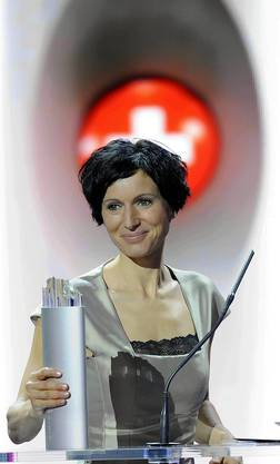 Nationalraetin Pascale Bruderer gewinnt den den Swiss Award in der Kategorie Politik.