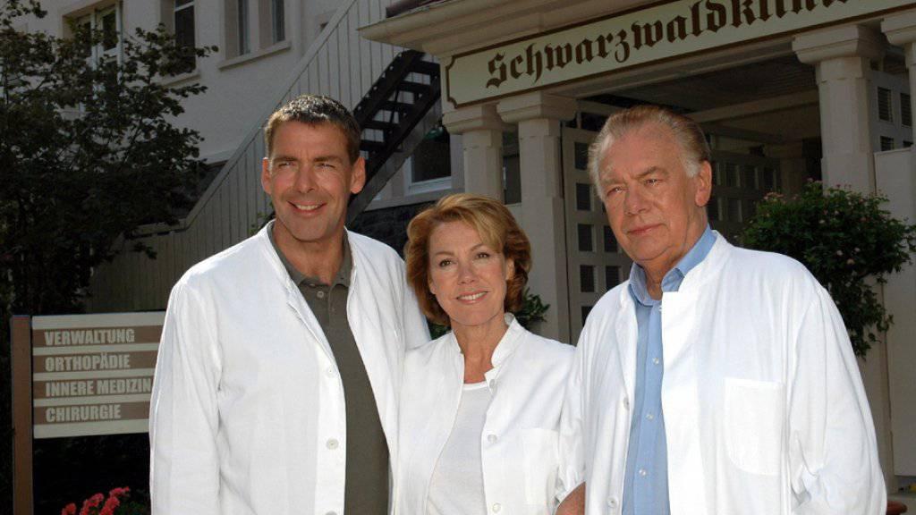 """Der ehemalige """"Schwarzwaldklinik""""-Schönling Sascha Hehn (links) ist nach eigenen Angaben immer noch ein Macho - aber ein gemässigter. (Archivbild)"""