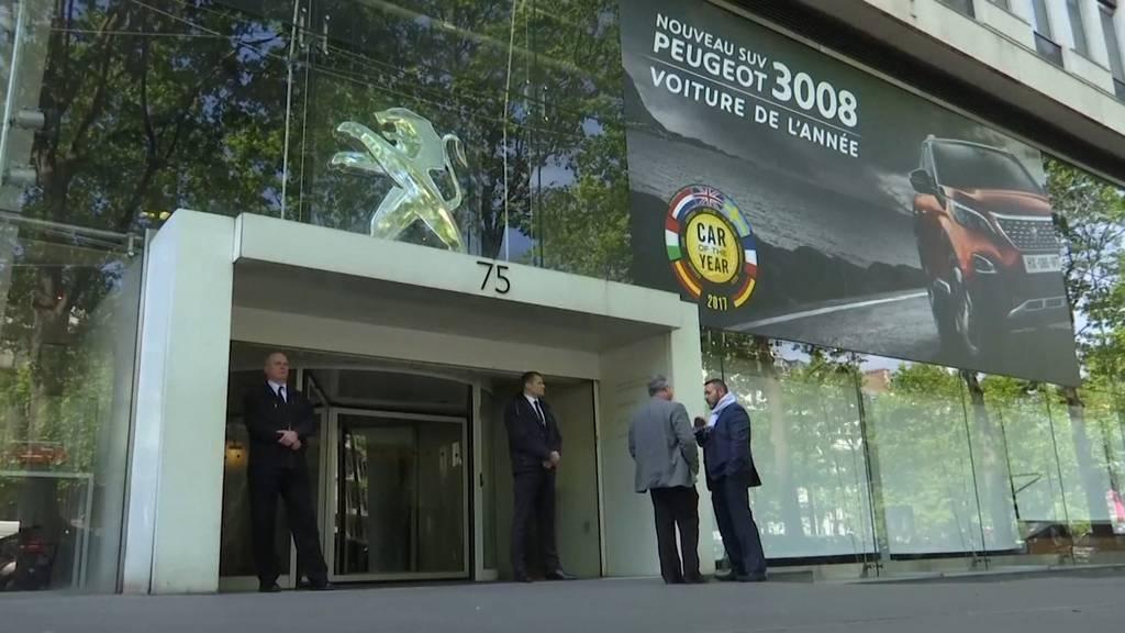 Peugeot-Konzern und Fiat Chrysler beschliessen Mega-Fusion