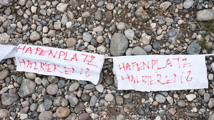 «Hafenplatz halbieren?»: Das wollen die Wagenleute nicht.