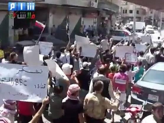 Russland und China wollen nicht, dass sich die UNO in die Proteste in Syrien einmischt