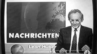 Léon Huber, die Tagesschau-Legende, ist gestorben
