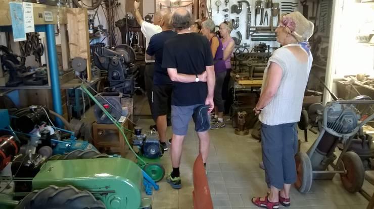 Schmiede der Oldie-Scheune