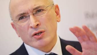 Bald hundert Jahre nach der letzten fordert er eine neue russische Revolution: Ex-Oligarch und Ex-Gefangener Michail Chodorkowski (in einer Aufnahme vom Dezember 2013).