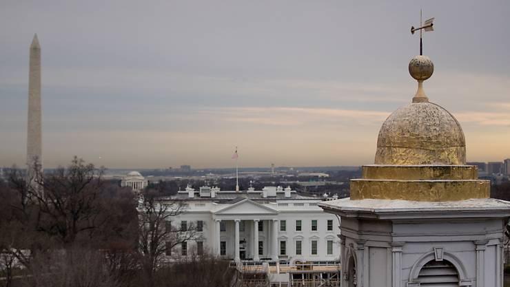 Das Weisse Haus hat eine Kooperation mit dem US-Kongress bei der Untersuchung zu einem möglichen Amtsenthebungsverfahren gegen US-Präsident Donald Trump kategorisch ausgeschlossen. (Archivbild)