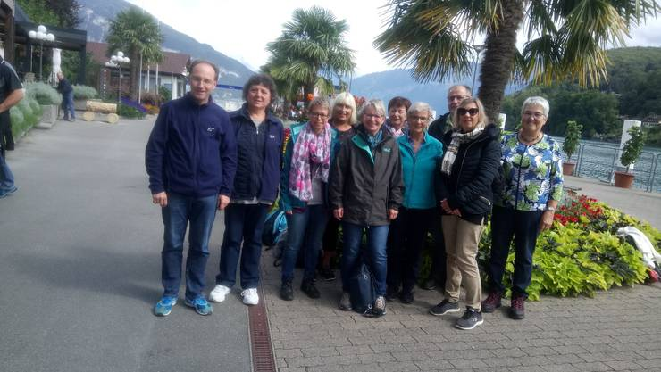 Gruppenbild in Spiez am Thunersee