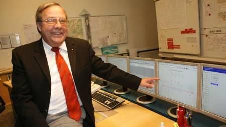 War nicht nur Abschiedsfest für ihn: Eduard Schumacher, langjähriger IWB-Chef.
