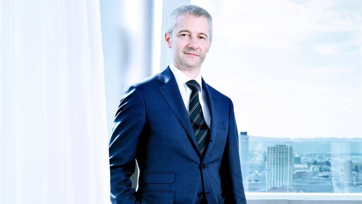 Der neue Migros-Chef Fabrice Zumbrunnen hat sich bisher nicht allzu sehr in den Vordergrund gedrängt.Lea Meienberg/13 Photo