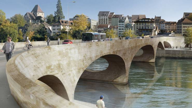 Das Neubauprojekt «Pont neuf» findet im Einwohnerrat grosse Zustimmung.