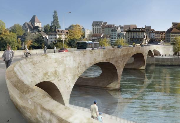 Das Neubauprojekt «Pont Neuf».