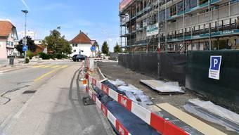 Im Zuge der Arbeiten auf den Kantonsstrassen erneuert Hägendorf die Wasser- und Abwasserleitungen. (Archiv)