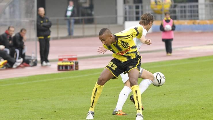 Nach zwei Niederlagen kehrte OB (hier Karim Barry) zum Siegen zurück. (Archiv)